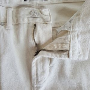 PacSun Jeans - PacSun white destroyed stacked skinny jeans 32×32